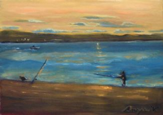 Dolls Point, Sunrise by Angie K